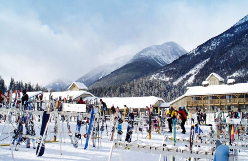 Panorama Mountain at the Panorama Vacation Retreat at Horsethief Lodge