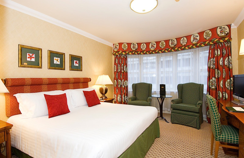 Guest room at Kingsway Hall.