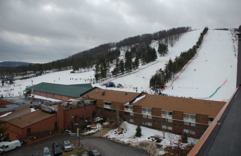 Resort And Mountain View at Wisp Resort