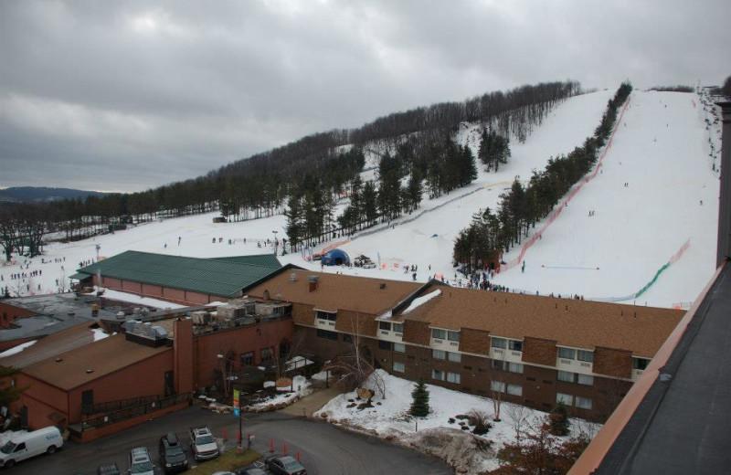 Resort And Mountain View at Wisp Resort