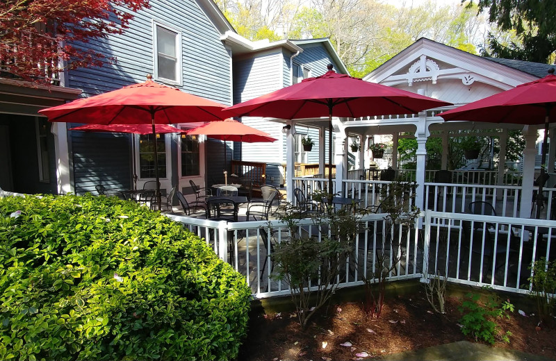 Patio at Kettle Creek Inn