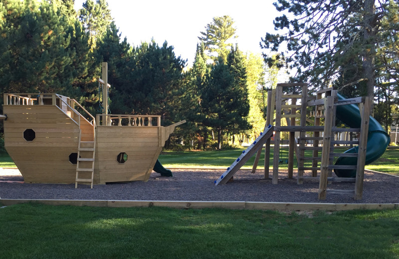 Playground at Big Sandy Lodge & Resort.
