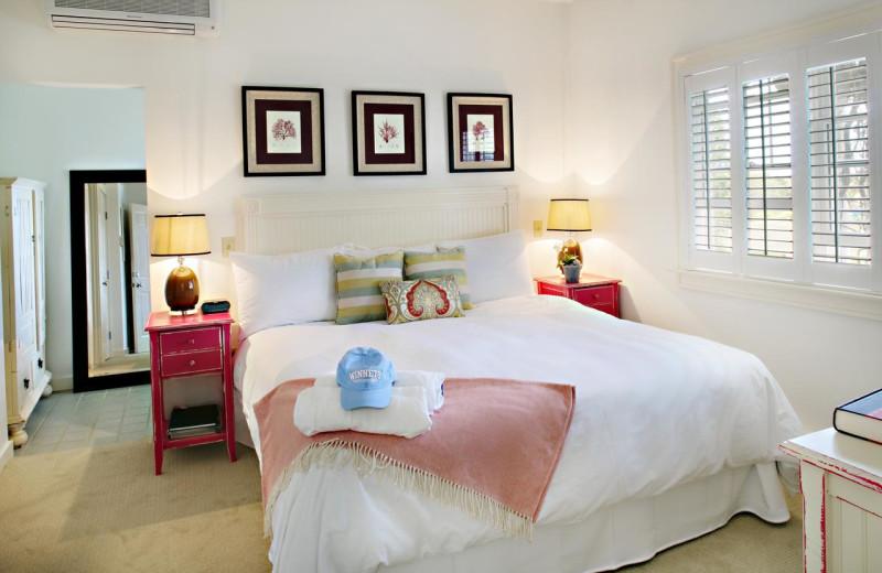 Guest room at Winnetu Oceanside Resort.