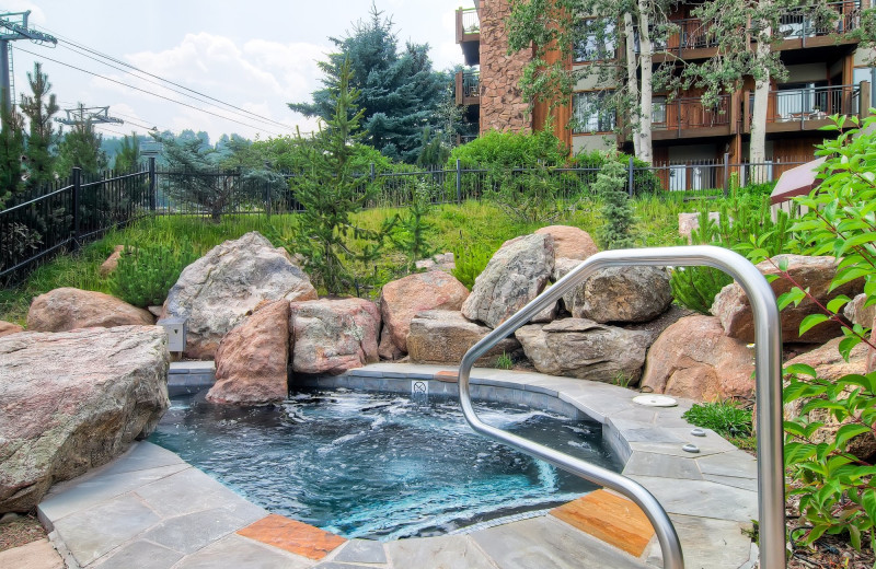 Hot tub at Shadowbrook Property Management.