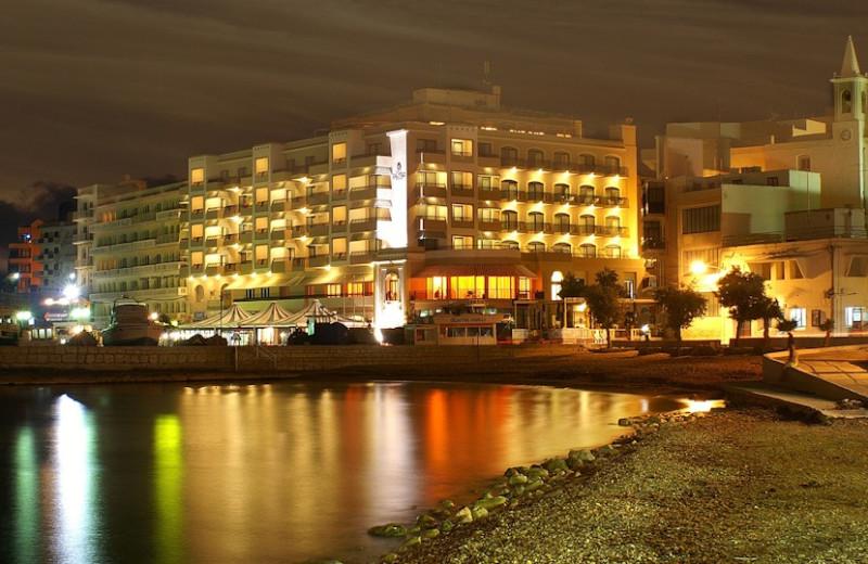 Exterior view of Atlantis Hotel.