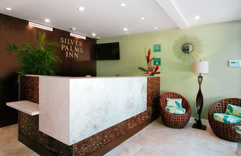 Front Desk at Silver Palms Inn