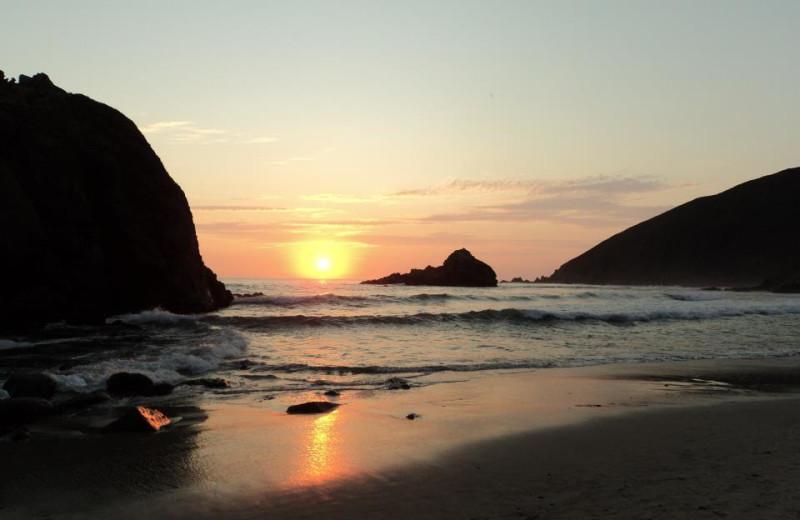 Sunset near Carmel Mission Inn