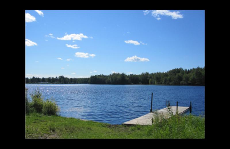 Lake view at Brumley's Resort.