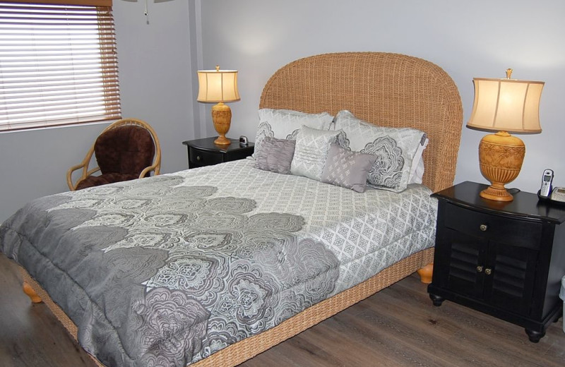 Rental bedroom at Anchor Vacations, Inc.