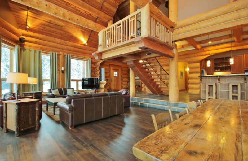 Rental interior at Fernie Central Reservations.