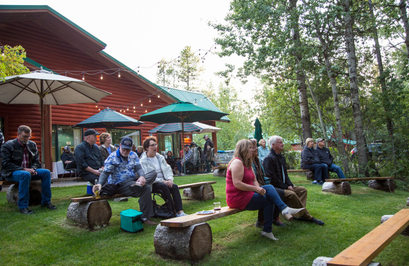Concerts at North Forty Resort.