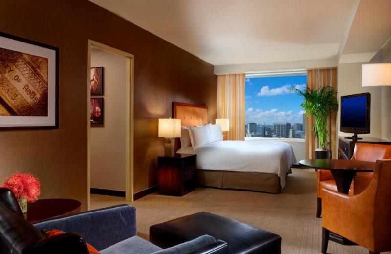 Guest Suite at the Hilton Americas - Houston