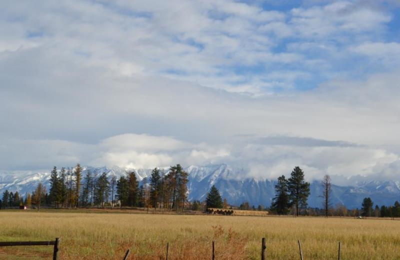 View From Ranch at Three Bars Ranch