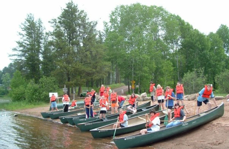 Canoeing at Heartwood Conference Center & Retreat.