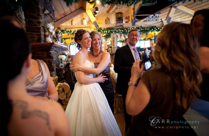 Wedding at Gunflint Lodge.