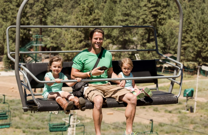 Family at Big Bear Vacations.