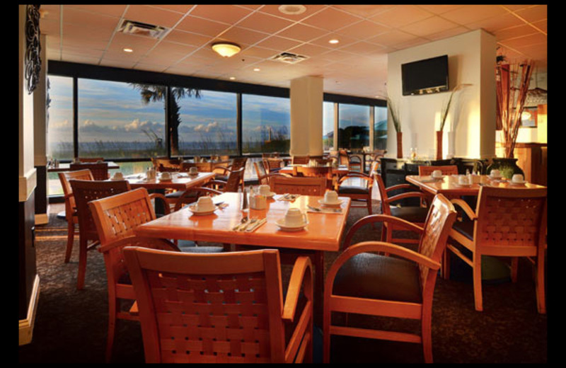 Dining room at Shell Island Resort.