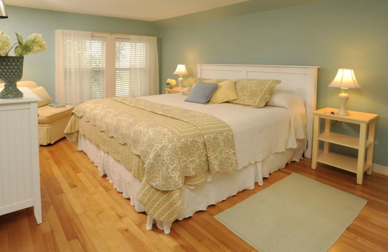 Guest room at Newagen Seaside Inn.