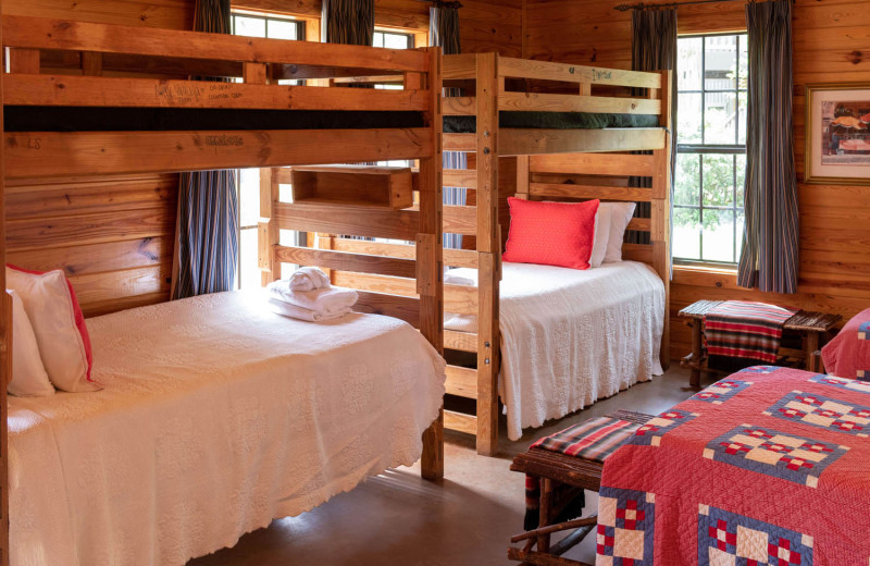 Guest room at The Retreat at Balcones Springs.