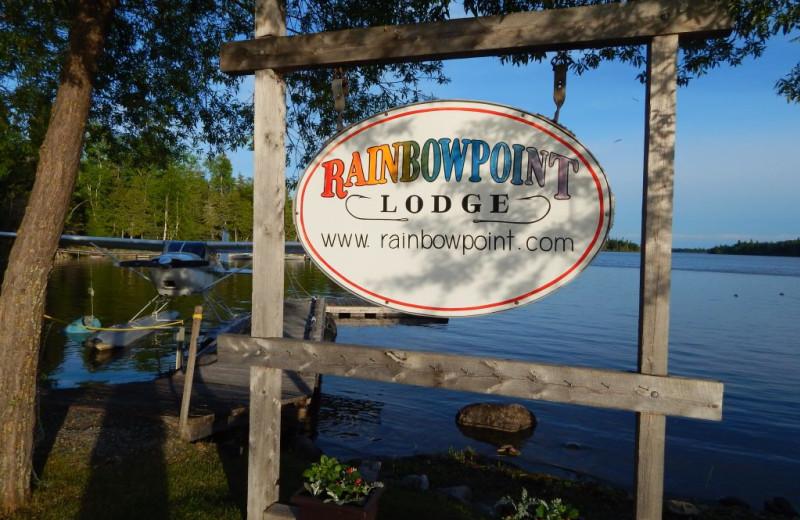 Dock at Rainbow Point Lodge.