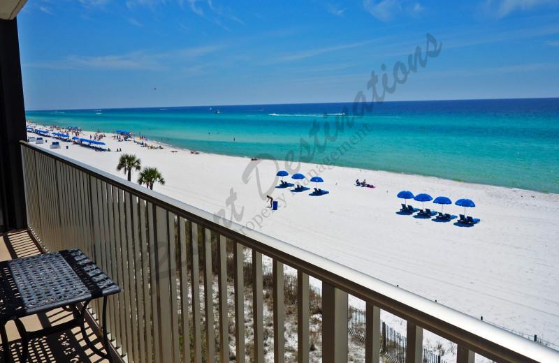 Rental balcony at Resort Destinations.