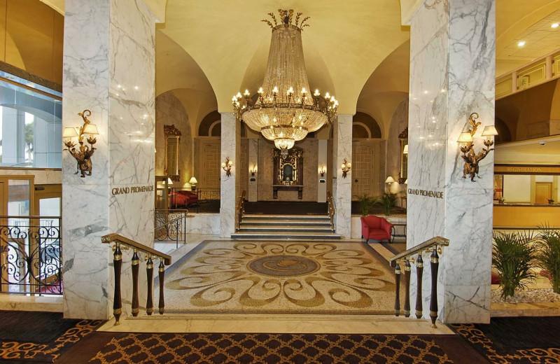 Lobby view at Miami Beach Resort & Spa.