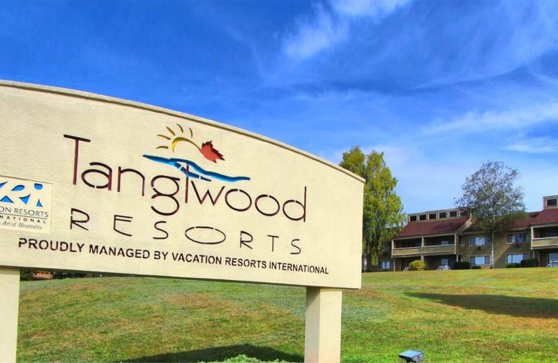 Exterior view of Tanglwood Resort.
