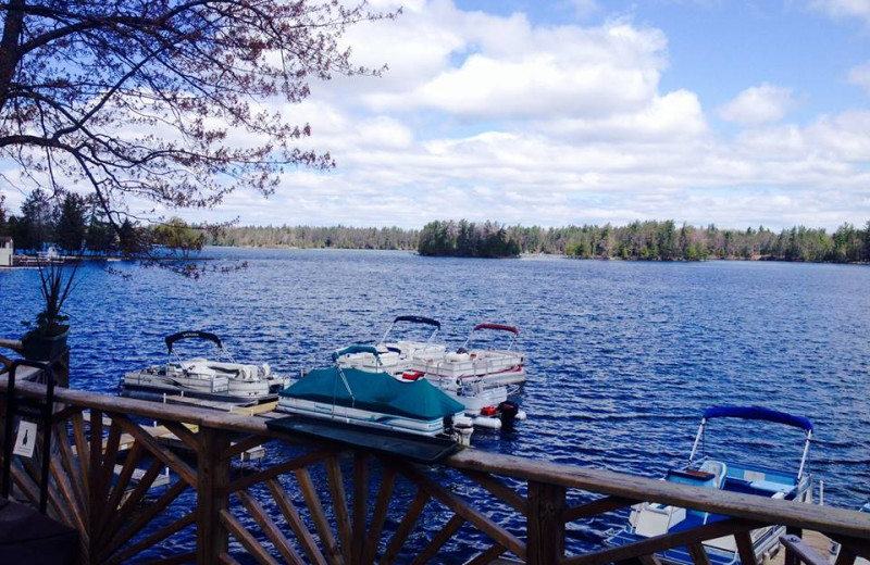 Lake view at Clear Lake Resort.