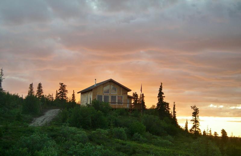 Cabin at Alaska Trophy Adventures Lodge.