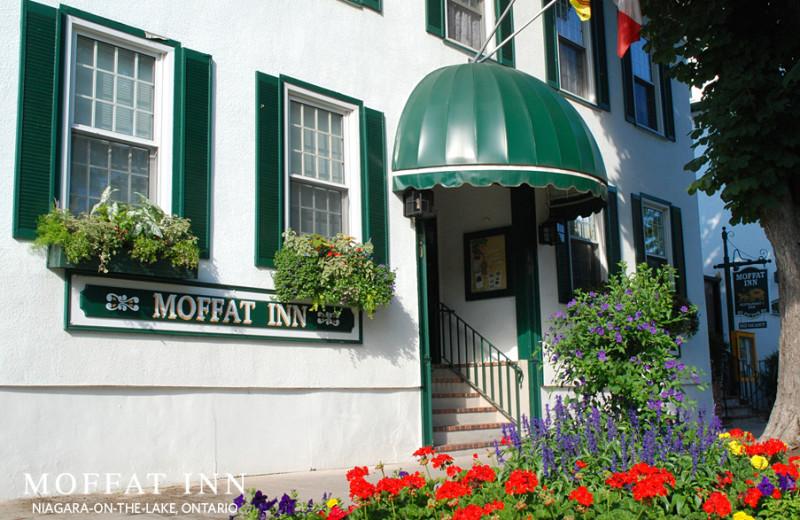 Exterior view of Moffat Inn.
