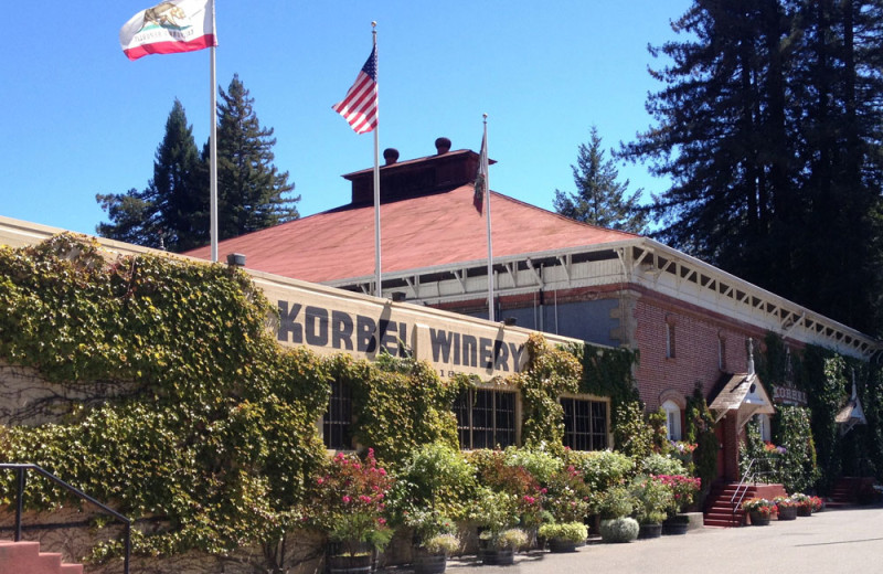 Winery near West Sonoma Inn and Spa.