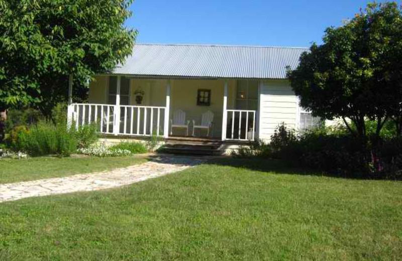 Cottage Exterior at Haven River Inn