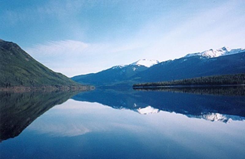 Lake view at Crooked Lake Resort.