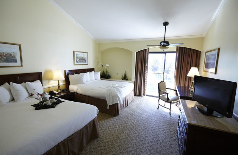 Guest room at Morgan Run Resort & Club.