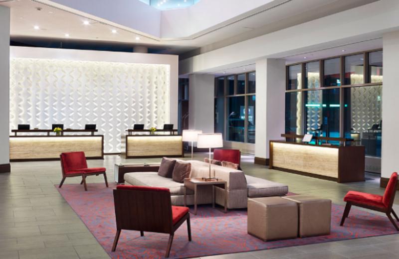 Lobby at Hyatt Regency Cincinnati