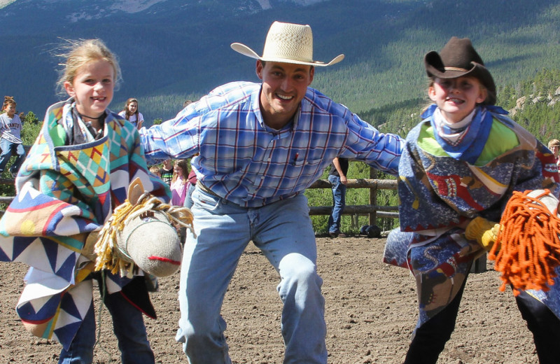 Ranch activities at Wind River Ranch.