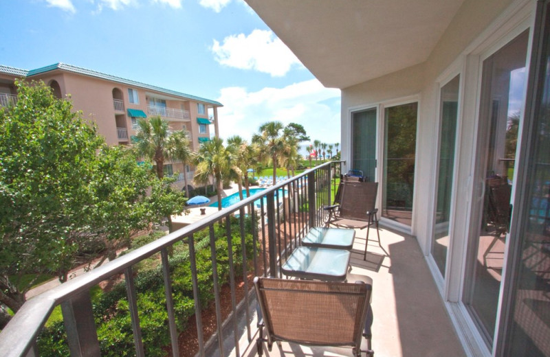 Rental balcony at Real Escapes Properties.