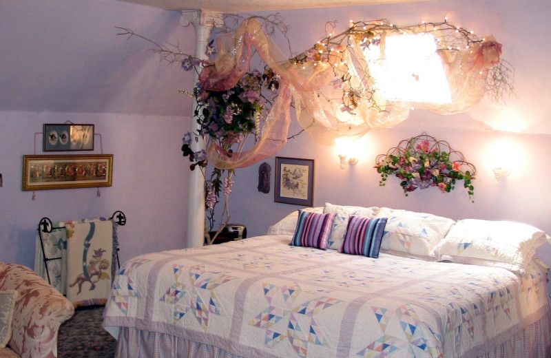 Guest room at Blue Belle Inn Bed & Breakfast.