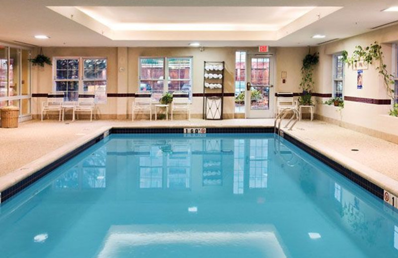 Indoor Pool at the Residence Inn Toronto Markham