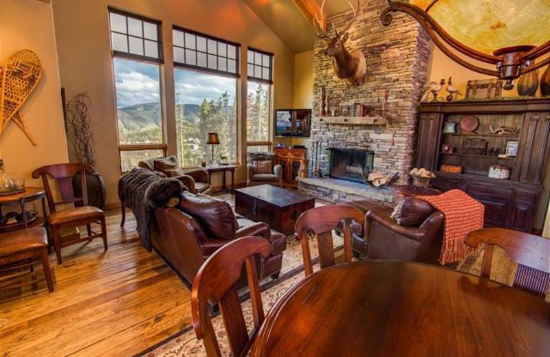 Rental interior at Black Diamond Vacation Rentals.