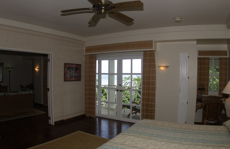 Guest room at Yap Pacific Dive Resort.