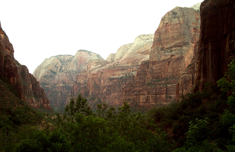 Zion Canyon near Abbey Inn