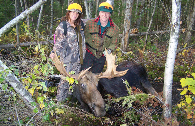 Bull moose hunting in Essex County, Wildlife Management Unit E-1, Vermont's Northeast Kingdom.