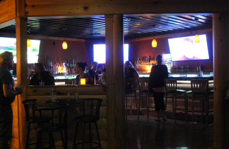 Bar at Catskill Mountains Resort.