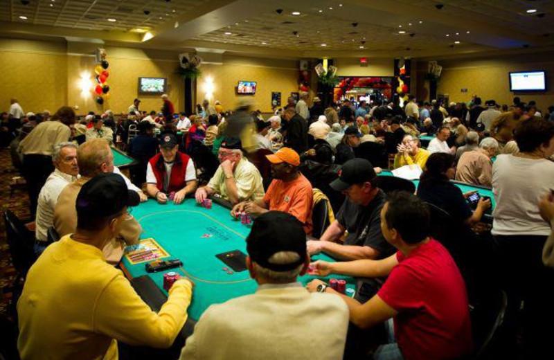 Poker room at Agua Caliente Casino Resort.