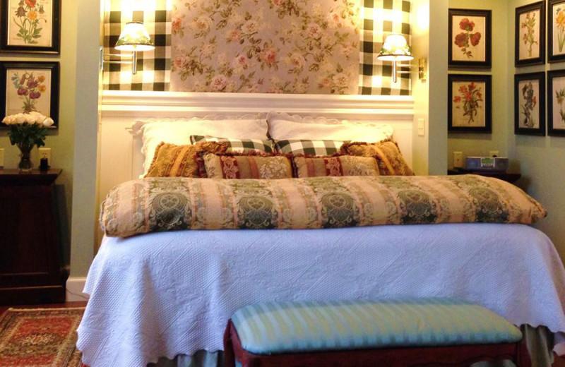 Guest room at Kingsbrae Arms.