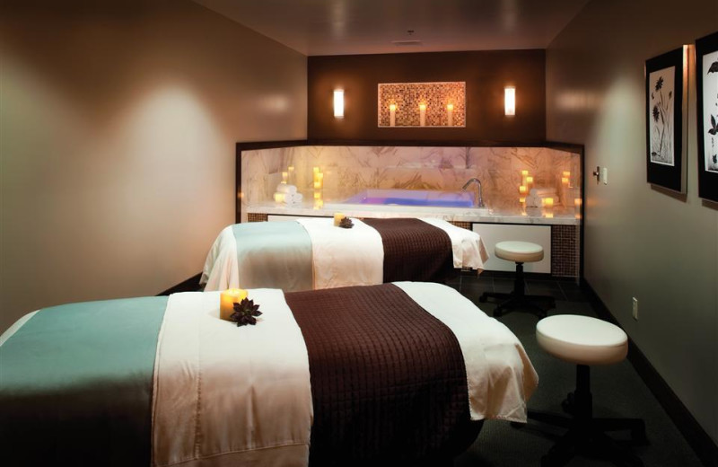 Spa massage tables at Crystal Mountain Resort and Spa.