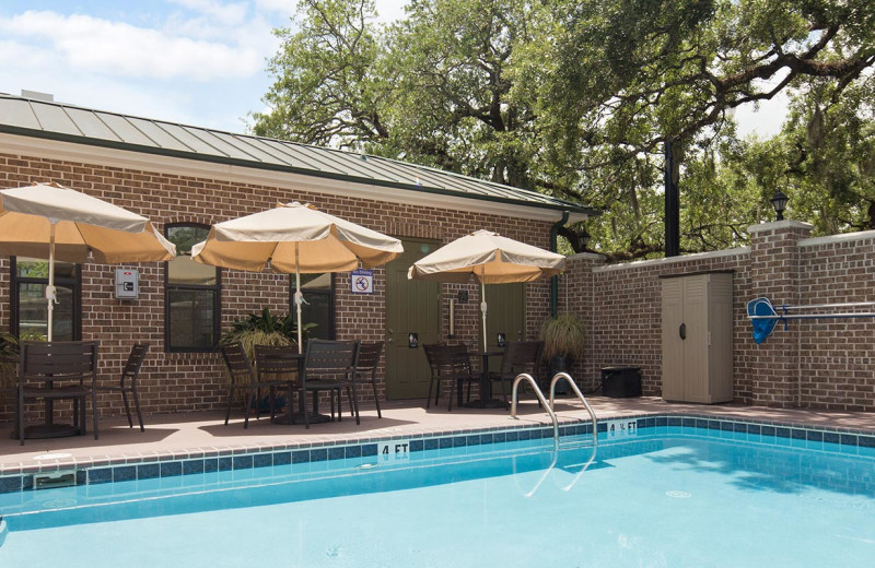 Pool at Best Western Savannah Historic District.