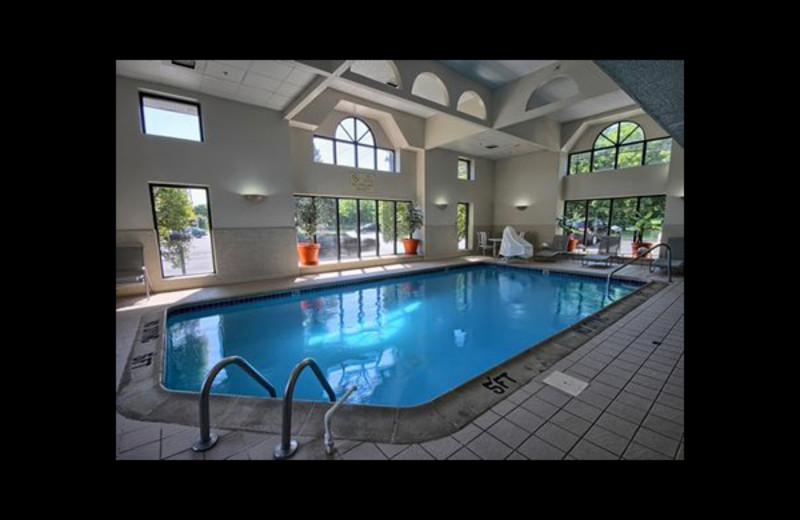 Indoor pool at Comfort Inn Near Greenfield Village.