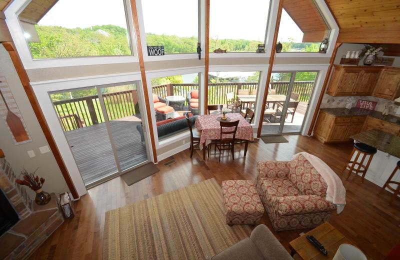 Rental interior at Branson Vacation Rentals.
